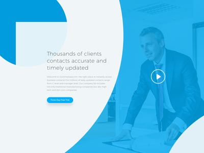 B2B Data Base Landing Page Hero Section Design thank you dribbble invite debut business first shot hello landing page data base b2b dribbble
