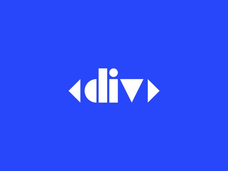 <div> letterform white blue angle design illustration logo challenge fun circle square triangle typography letterform geometric dribbble letters div