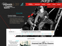 World War 1 Centenary website