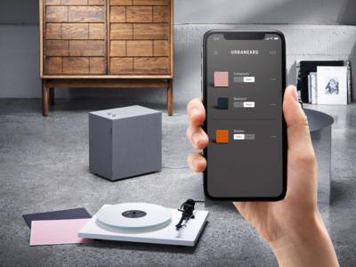 Urbanears App grey android ios deezer spotify music wifi connect speaker urbanears