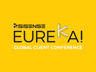 Sisense Eureka flat 3d isometric sisense eureka logo