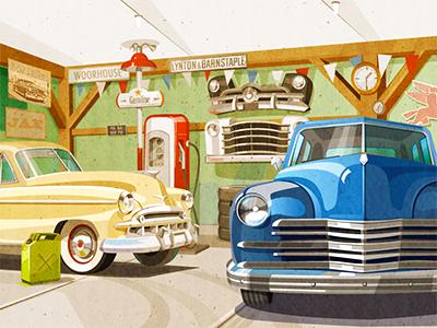 Classic Cars car cars classic car illustration