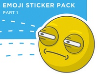 Emoji sticker pack