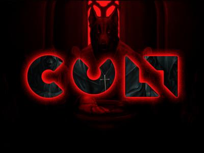 CULT logo design logo lettering cult custom font letters letter