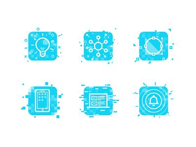 Iconset notification icon web icon mobile icon design icon ux icon concept icon skills iconset icons