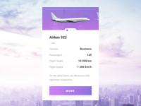 Plane Info Slider