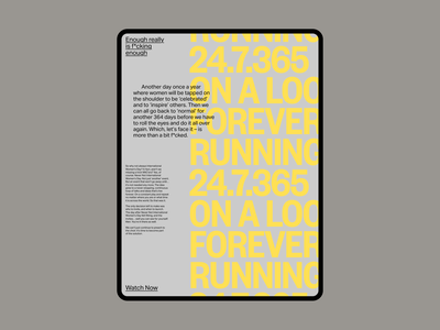NNIWD poster design website web
