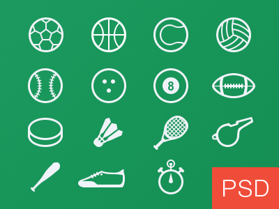 Sport glyph vector icons freebie free download sport glyph icons football basketball tennis volleyball bowling billiard