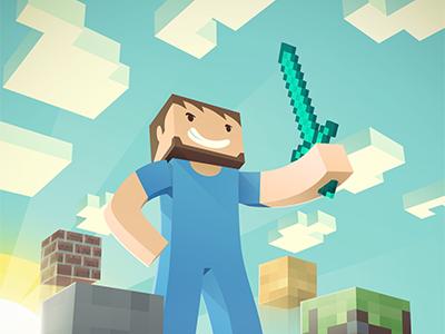 Minecraftdribbble