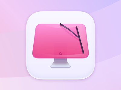 CleanMyMac X App Icon Update visual macpaw illustration macos cleanmymac mac ui icon