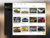 Automotive Web Site Concept