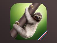 Sloth IOS Icon