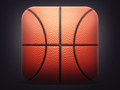 Basketball IOS Icon