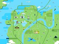 Map for Hangzhou