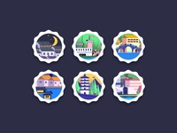 Stamps for X-xiang app