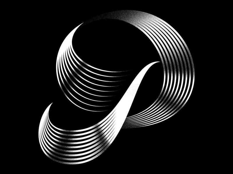 P typeface vector lettering typography design graphicdesign logo icon illustration digital illustration 3d 3d art 36daysoftype