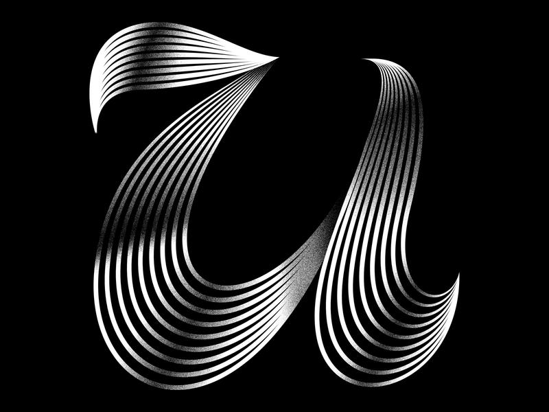 U 36daysoftype illustration minimal typeface lettering typography graphicdesign badge icon logo