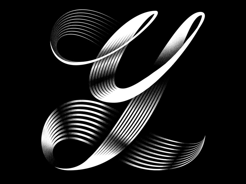 Y minimal typeface lettering typography linework graphicdesign logo icon illustration 36daysoftype 36daysoftype07