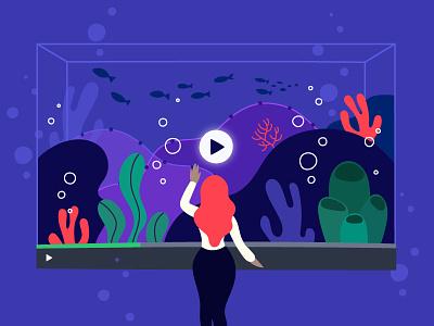 Viewing Data illustration videos vidyard