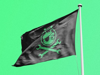 Flag Design for the VY Office! pirates pirate tech waterloo kitchener flag vidyard
