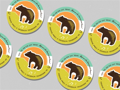 Great Bear Festival Coaster 2 festival coaster beer bear