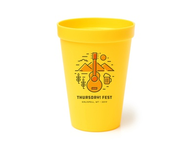 Beer Cup for Thursday! Fest beer logo cup