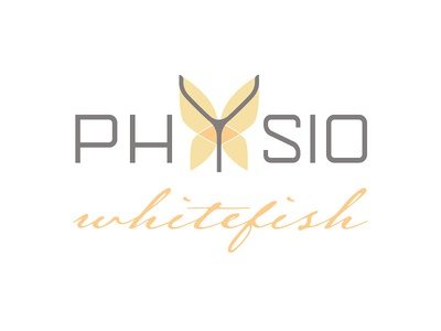 Physio Whitefish Logo Design