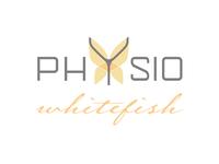 Physio Whitefish Logo Design