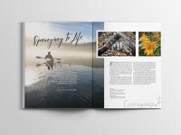 Flathead Living Magazine Layout