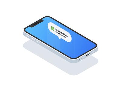 Phone Isometric isometry isometric illustration phone vector isometric illustration