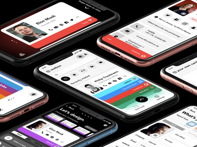 The future of the business card - UI/UX Concept