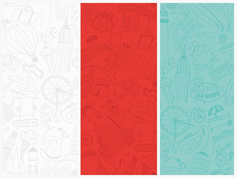 Hotwire Illustration Pattern handdrawn illustration pattern