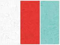 Hotwire Illustration Pattern