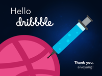 Injecting web goodies into dribbble soon :)