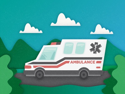 Ambulance car hospital medical healthy automobile auto clinic vehicle aid illustration charity car ambulance