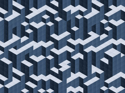 Isometric labyrinth puzzle 3d modern texture geometric abstract maze background illustration pattern labyrinth isometric