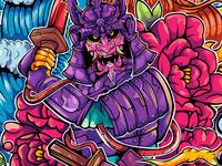 New commission (Psy Samurai)