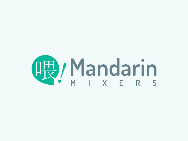 Mandarin mixers | Chinese language learning app logo design language learning chinese hello dribbble first shot logos app branding logo design logo