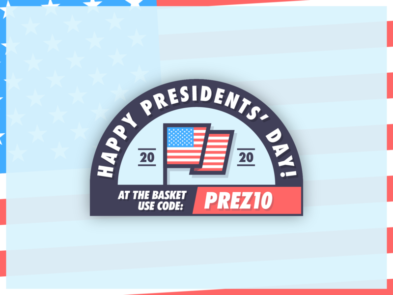 🇺🇸 Presidents' Day 2020 🇺🇸 presidentsday usa president illustrator graphic design graphic campaign newsletter email vector logo illustration
