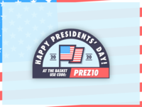 🇺🇸 Presidents' Day 2020 🇺🇸 presidentsday usa president illustrator graphic design graphic campaign newsletter email vector logo illustration