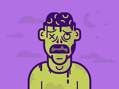 Zombie Illutration vector illustrator illustration