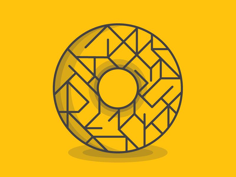 O #Typehue Week 15 typehue illustration illustrator typography type o