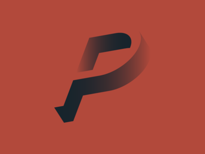 P by Jack Gill via dribbble