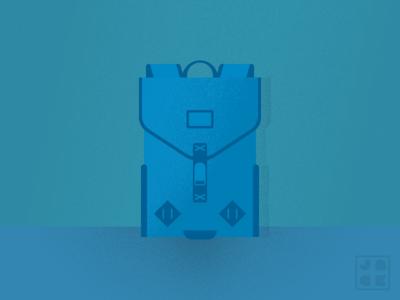 My NEW Backpack texture backpack bag illustrator illustration