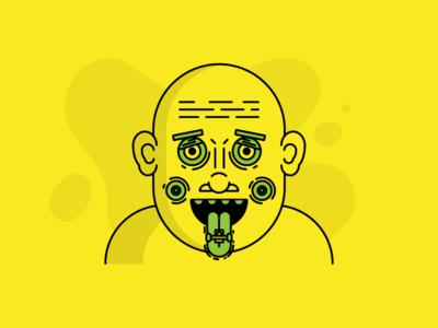 🤙 SK8FACE 🤙 design character illustration portrait face skateboarding skateboard skate