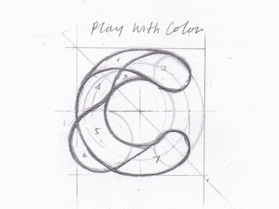 Clone Logo Concept branding brush calligraphy face font identity logo marker pen pencil sketch
