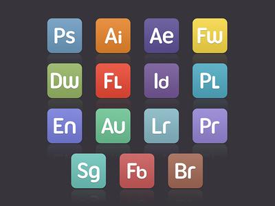 Varient Flat Custom CS Icons