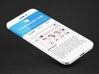 Portfolio - Mobile