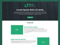 DXW Landing page