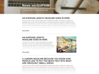 News page Template – 02